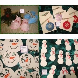 Christmas Ornaments, Cards, Tags