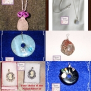 Necklaces, pendants