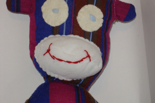 Sock Monkey Sewing Pattern, No Socks PDF