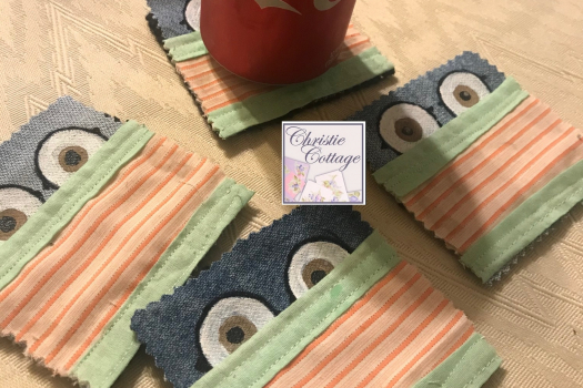 Face mask coasters