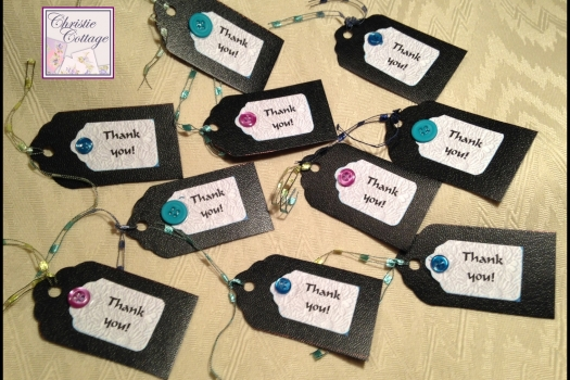Thank You Hang Tags, Set of 10, Made in America