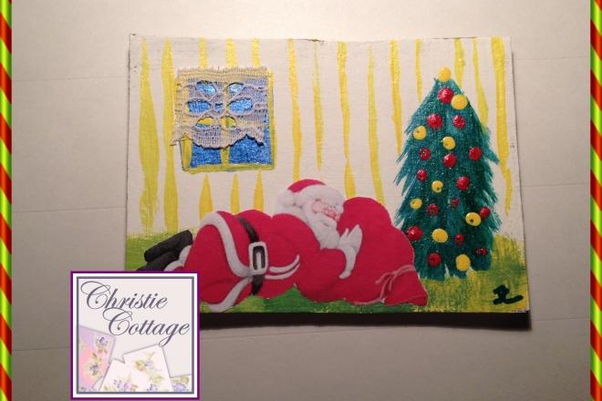 Aceo, Santa Sleeping