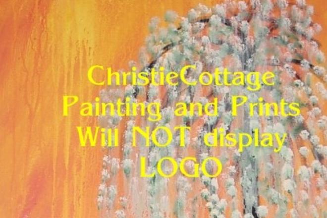 Weeping WIllow Original Painting