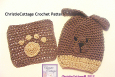 Puppy Dog Wash Mitt Wash Cloth Set Crochet Pattern PDF