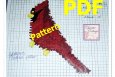 Cardinal, Needlepoint, Plastic Canvas Pattern. PDF