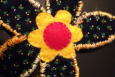 Daisy Applique, Handmade, Quilted, 006