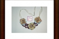 Boho crocheted necklace, Made in America