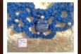 Boho necklace blue