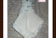 Miniature Wedding Dress Hankie, Keepsake