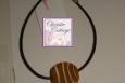 focal bead, basketball bracelet Anklet