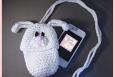 Bunny Pouch (Cell phone, bottle camera, cozie, case, holder) PDF pattern