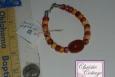 beaded bracelet, handmade