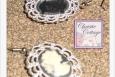 Lavely Cameo Dangle Earrings