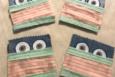 Fun Face mask coasters