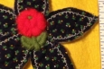 Daisy Applique, Handmade, 003, Vintage Applique Center