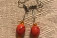Orange Red dangles