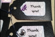Dragonfly Thank You Hang Tags, Set of 10, P164