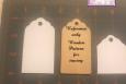 Hang tags, blank