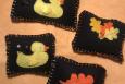 Pincushion, Handmade, Hand stitched, Choice