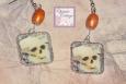 Day of the Dead, Skull Earrings