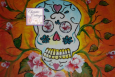 ACEO Sugar Skull, ATC, Art Cards Edition