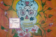 ACEO Sugar Skull, ATC, Art Cards Edition