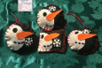 Snowmen, Ornaments, Christmas Ornaments, Handmade, Free Shipping