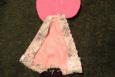 Sunbonnet Sue, Handmade Applique, Handmade in America, Pink, Gingham