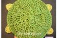Turtle Bath Mitt Crochet Pattern 009 - PDF