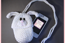 Bunny Pouch (Cell phone, bottle camera, cozie, case, holder) PDF pattern