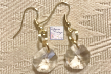 Free shipping Crystal dangles Earrings.