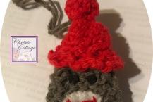 Sock Monkey Ornament
