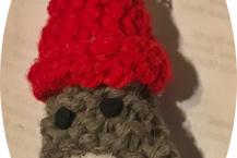 Handmade Sock Monkey Ornament