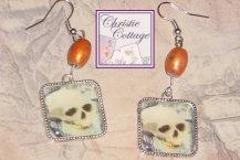 Day of the Dead, Skull Earrings