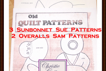 Pattern Sunbonnet Sue and Overalls Sam