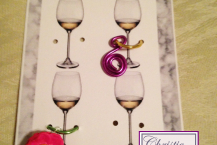 Wine Glass Charms Display Card, PDF