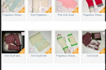 Fingerless gloves sold out